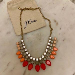 Beautiful ombré JCrew statement necklace